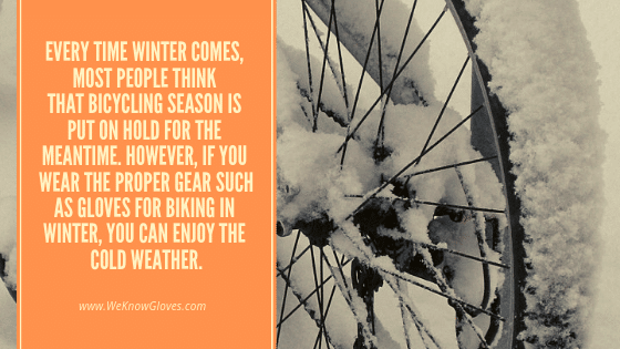 Gloves For Biking In Winter