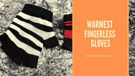 Warmest Fingerless Gloves