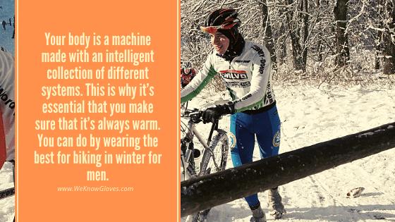 Gloves For Biking In Winter For Men