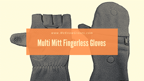 Gloves With Removable Fingers