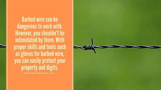 Gloves For Barbed Wire