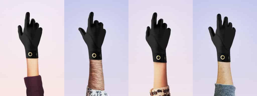 QuantaVici Smart Thin Heated Gloves
